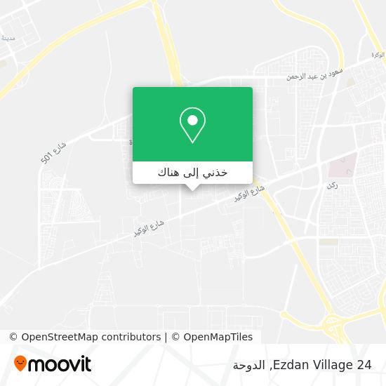 خريطة Ezdan Village 24