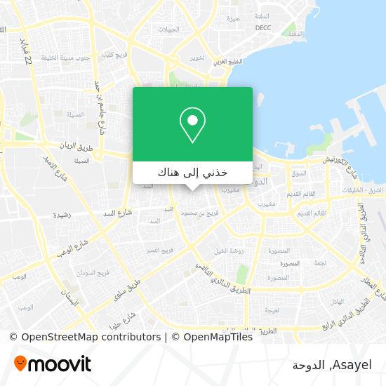 خريطة Asayel