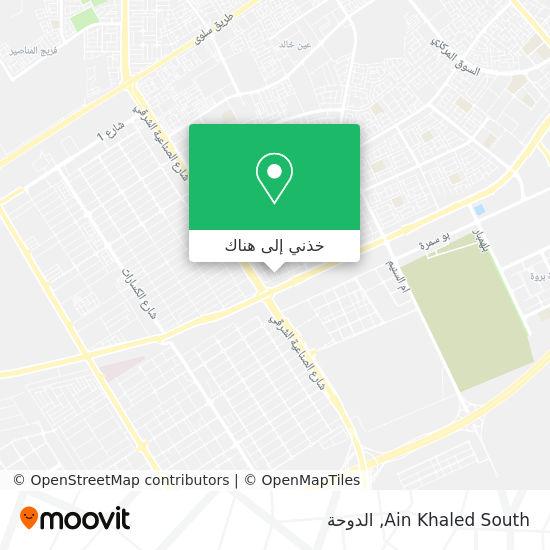 خريطة Ain Khaled South