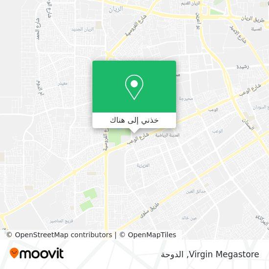 خريطة Virgin Megastore