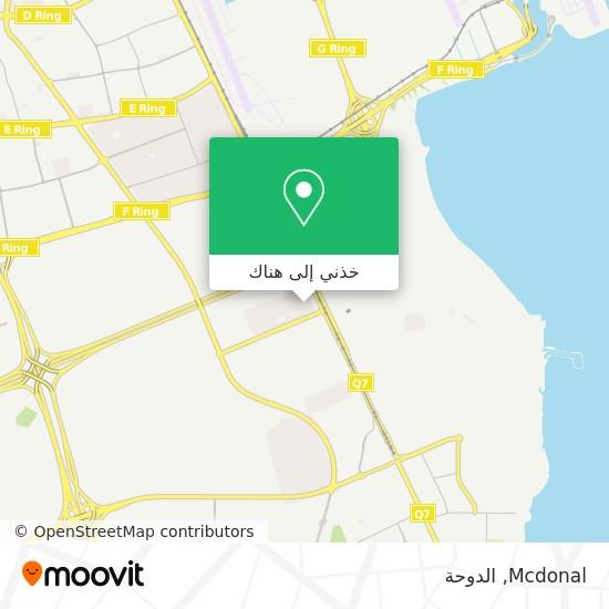 خريطة Mcdonal