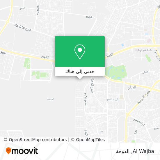 خريطة Al Wajba