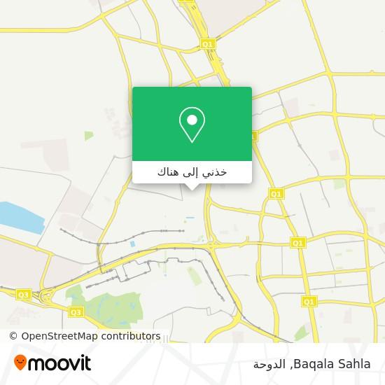 خريطة Baqala Sahla