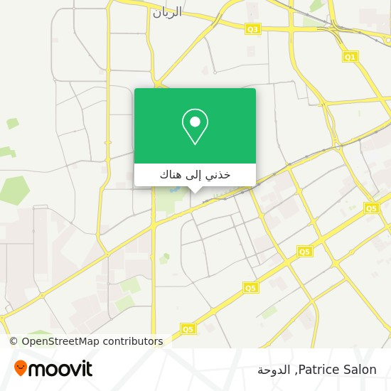 خريطة Patrice Salon