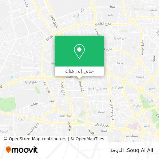 خريطة Souq Al Ali