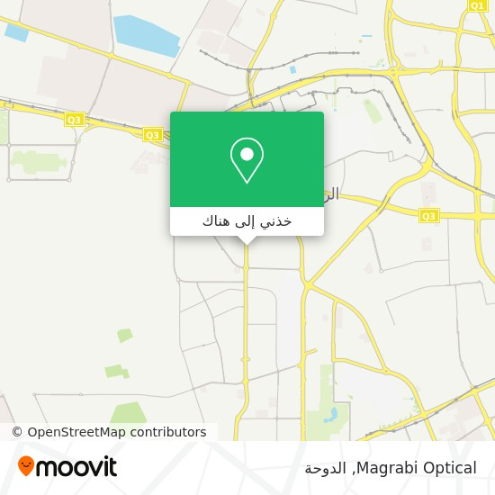 خريطة Magrabi Optical