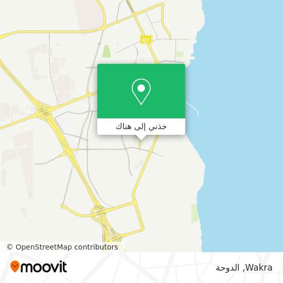 خريطة Wakra