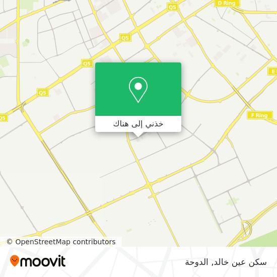 خريطة سكن عين خالد