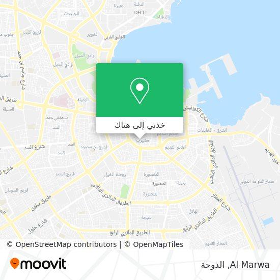 خريطة Al Marwa