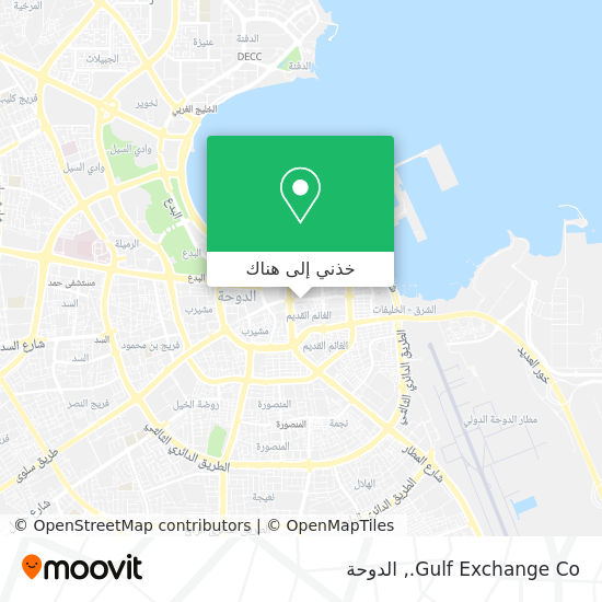 خريطة Gulf Exchange Co.