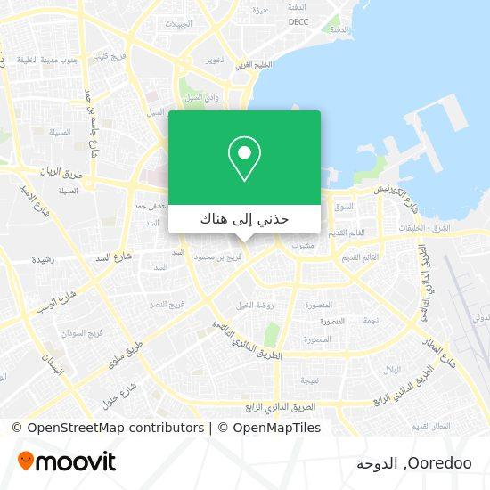 خريطة Ooredoo