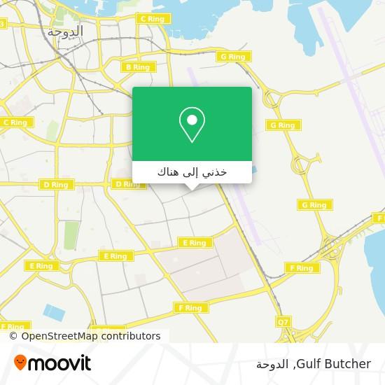 خريطة Gulf Butcher