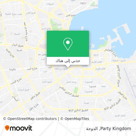 خريطة Party Kingdom