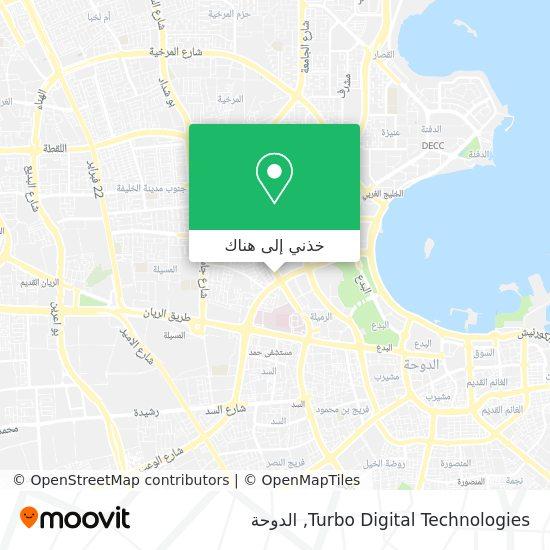 خريطة Turbo Digital Technologies