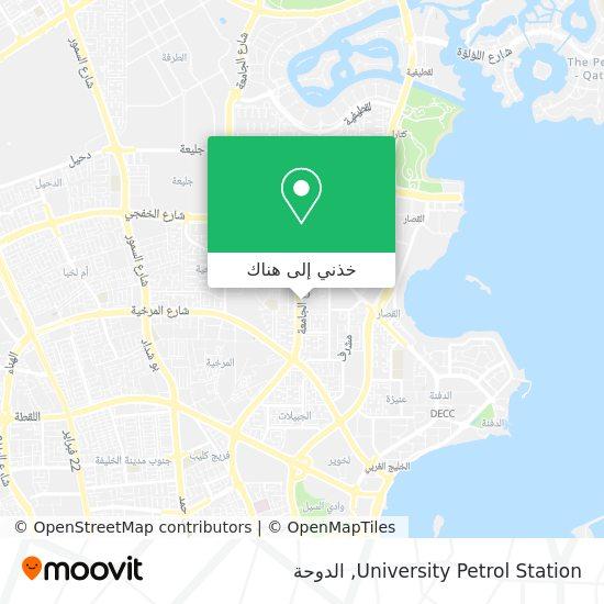 خريطة University Petrol Station