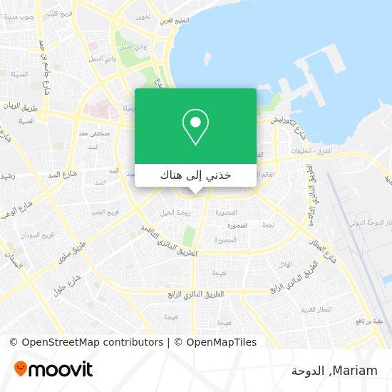 خريطة Mariam