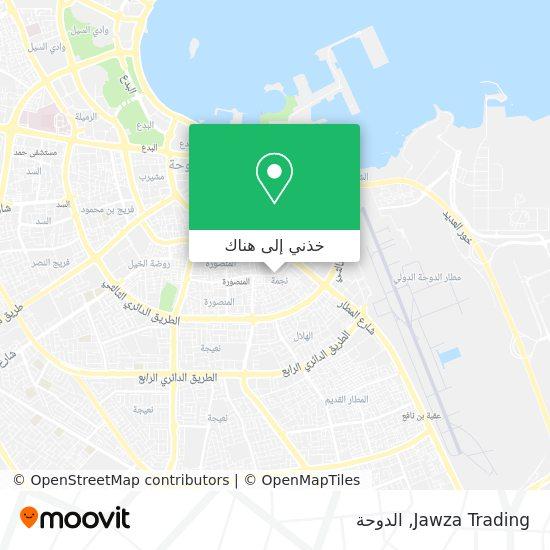 خريطة Jawza Trading