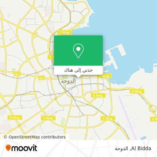خريطة Al Bidda