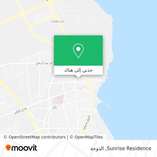 خريطة Sunrise Residence