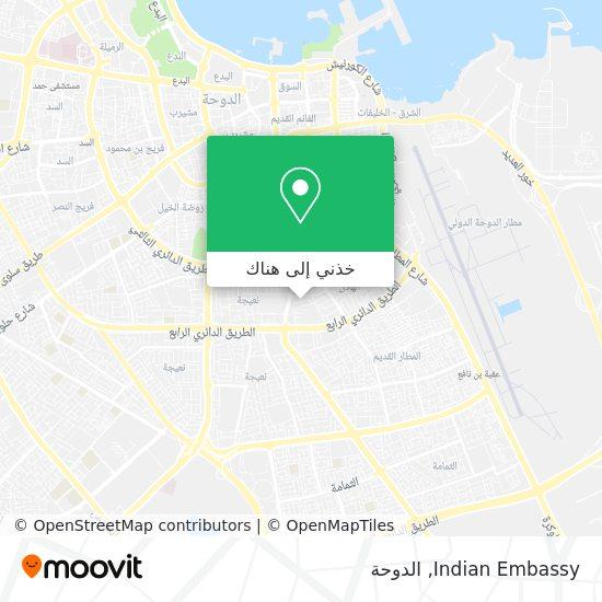 خريطة Indian Embassy