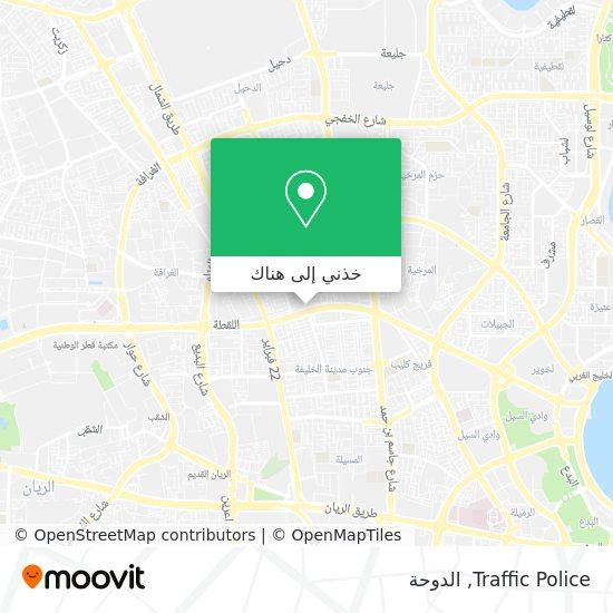 خريطة Traffic Police