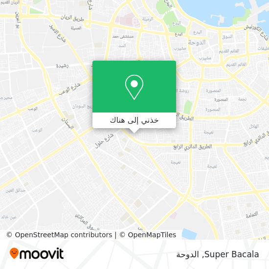 خريطة Super Bacala