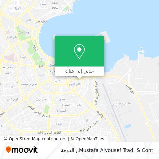 خريطة Mustafa Alyousef Trad. & Cont.