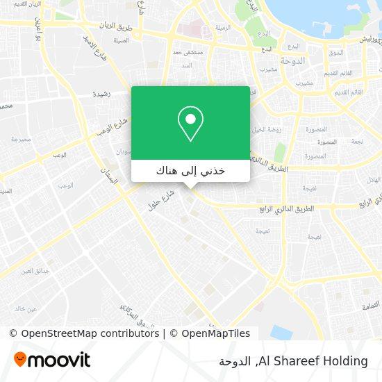 خريطة Al Shareef Holding