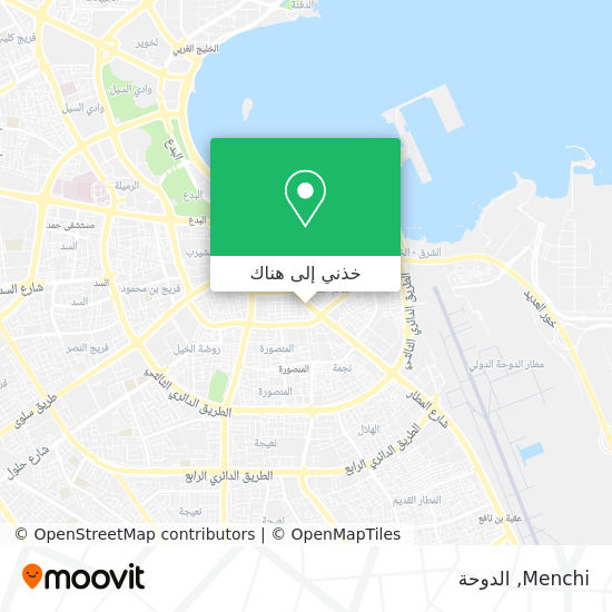 خريطة Menchi