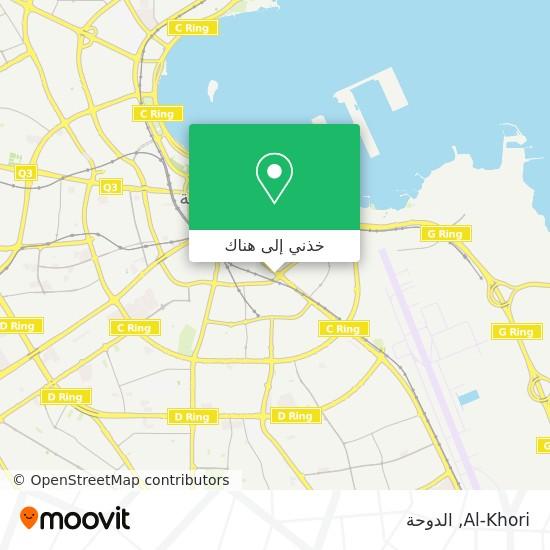 خريطة Al-Khori