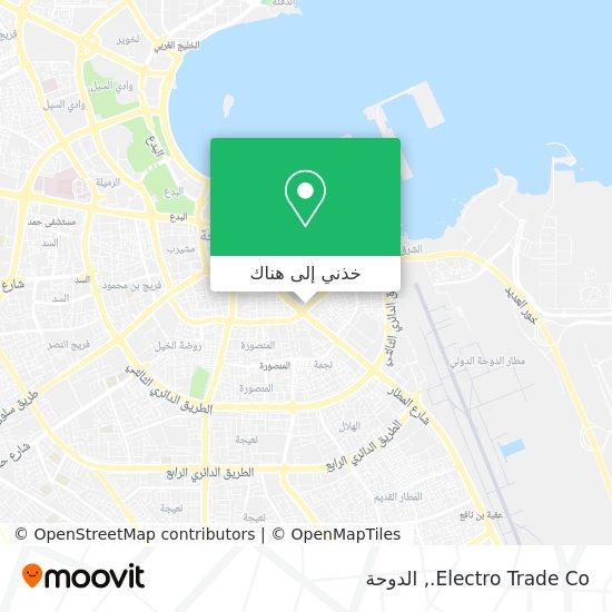 خريطة Electro Trade Co.