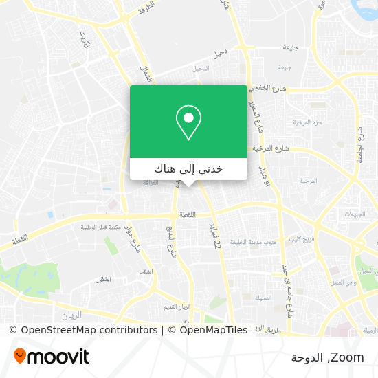 خريطة Zoom