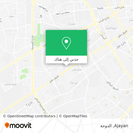 خريطة Ajayan