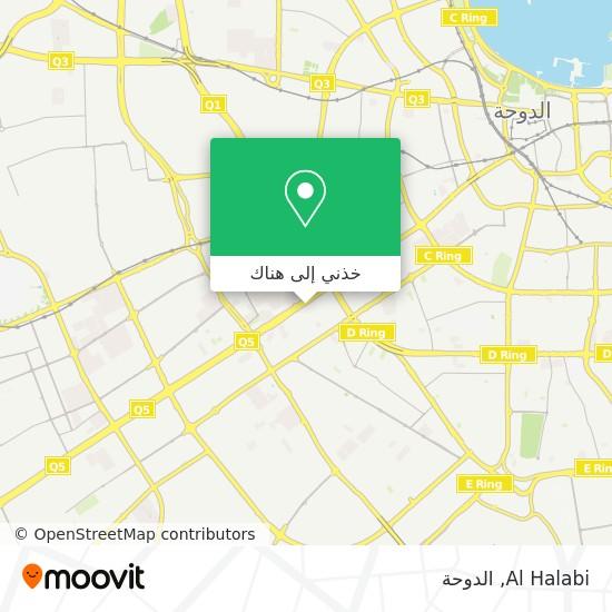 خريطة Al Halabi