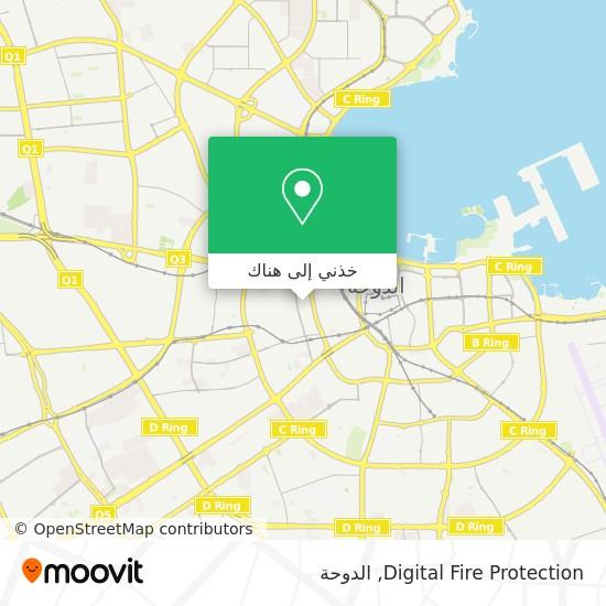 خريطة Digital Fire Protection