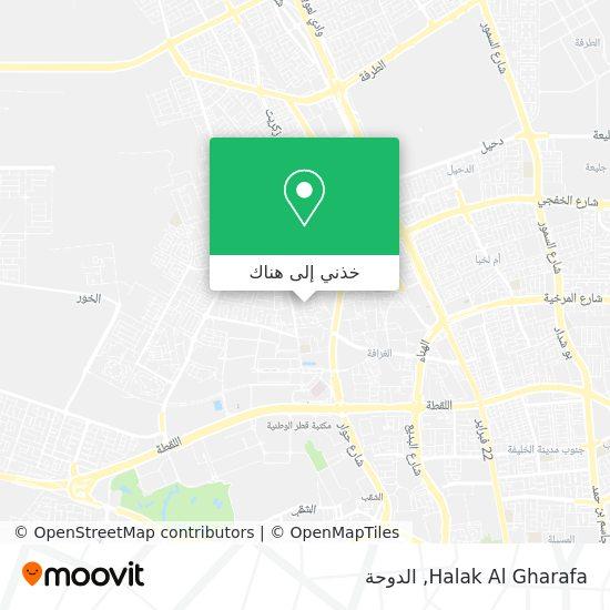 خريطة Halak Al Gharafa