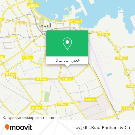 خريطة Riad Rouhani & Co.