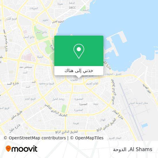 خريطة Al Shams