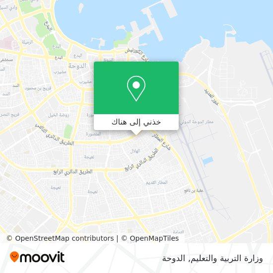 خريطة وزارة التربية والتعليم