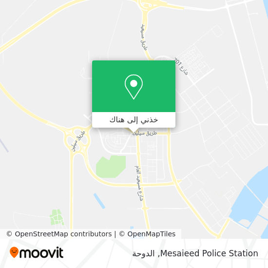 خريطة Mesaieed Police Station