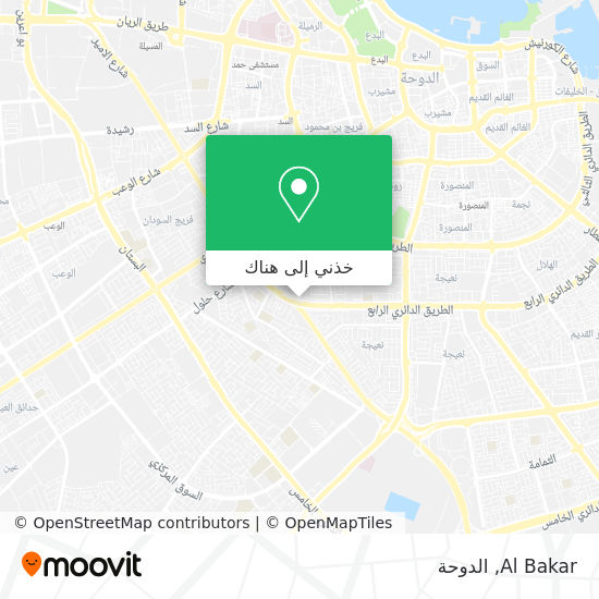 خريطة Al Bakar