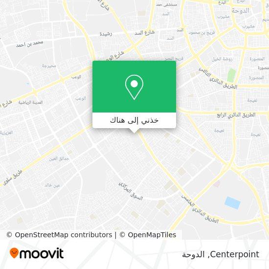 خريطة Centerpoint