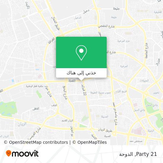 خريطة Party 21
