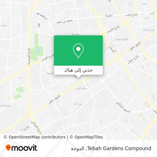 خريطة Tebah Gardens Compound
