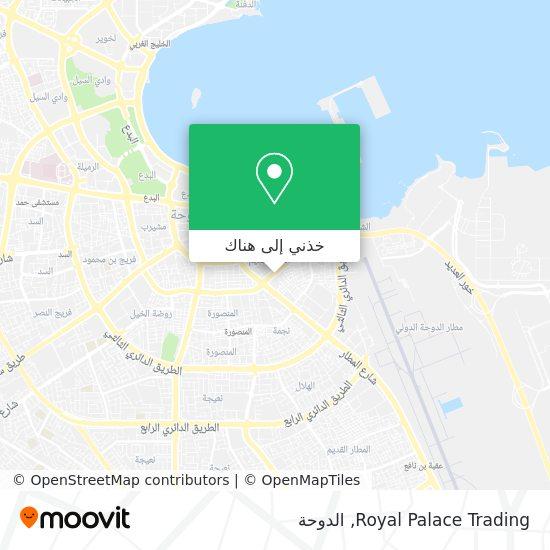 خريطة Royal Palace Trading
