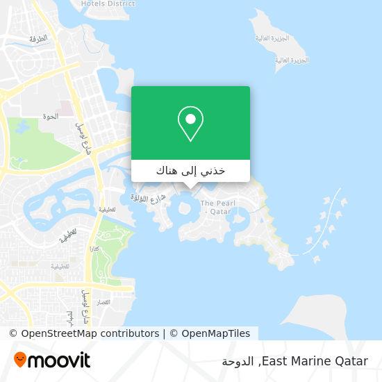 خريطة East Marine Qatar
