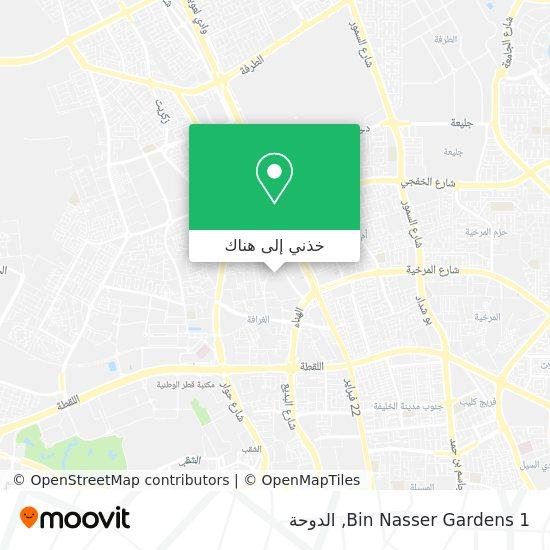 خريطة Bin Nasser Gardens 1