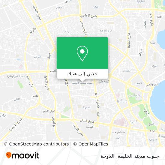 خريطة Madinat Khalifa South (34)