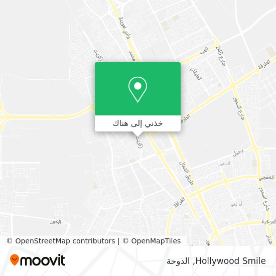 خريطة Hollywood Smile