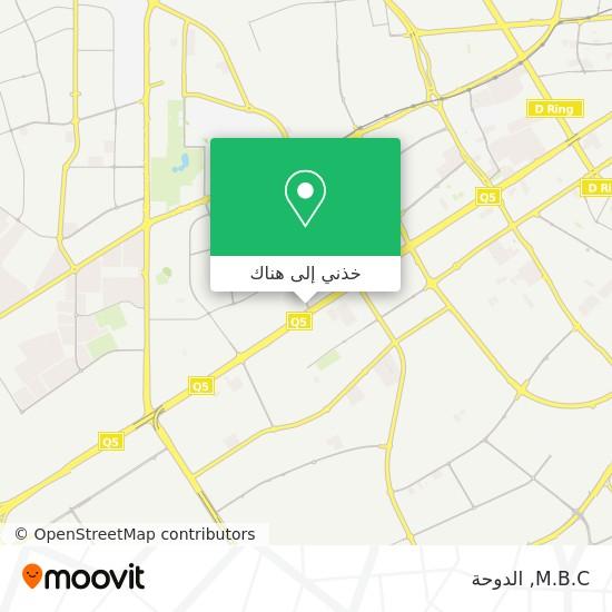 خريطة M.B.C
